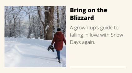 Bring on Blizzard